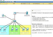 Packet Tracer – Revision #2 – DHCP, Routage & SSH